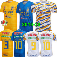 19 20 Mexico club Tigres UANL Yellow home third soccer jerse...