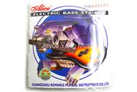 Alice A606 Hafif / Orta Elektrik Bas Strings 4 Çelik Nikel Alaşım Yara Böcek içinde 045-105 (045-105). Ücretsiz kargo