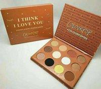 Charme modellazione cosmetici ombretto palette ColourPop 9 stile 12 fashiond tavolozza dei colori ombretto epacket