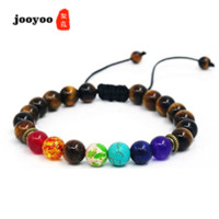 Jewelry Energy Stone Hand String Natural Blue Stone Adjustab...