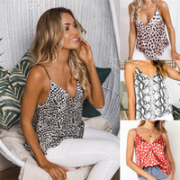 Newly Arrival Ladies Leopard Printed Sleeveless Women Tank F...