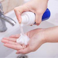 100ml / 150ml espuma de espuma plástica bomba de bomba de sabão sudser recarregável recipiente portátil porta de contêiner vazio lavar garrafas de pacote airless líquido