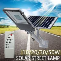 10/20/30 / 50W في الهواء الطلق مقاوم للماء LED تعمل بالطاقة الشمسية وول ستريت مسار الضوء الفيضانات مصباح للساحة حديقة 3 طرق العمل