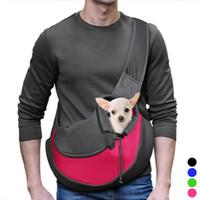 Zaino Sling Bag Comfort Pet Dog cucciolo del gatto Carrier Tote di corsa della spalla a piccoli cani e gatti