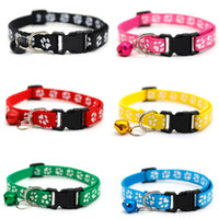 Практическое небольшое ожерелье для домашних животных с небольшими колоколами щенка для защиты тренировок для прогулочных собак регулируемый дизайн