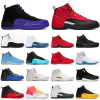 air retro jordan 12 Basketball Schuhe jordans 12s STOCK X Jumpman 23 DARK CONCOR REVERSE XII FLU GAME Gold FIBA Gym Herren New Trainer Turnschuhe Größe EUR 47