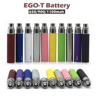 EGO-T Батарея E-Cigartte Kit 650mah 900mah 1100mah Vape Батареи EGOT адаптер GS-H2 CE4 CE5 BBC MT3 распылитель