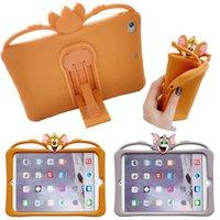 3D Cartoon Soft Stand Kids Children Case For Apple Ipad2 Pro 11 2020 Mini 4 2019 9.7 10.2 Smart Cover Case
