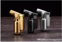 Мини-распылитель Компактный бутан газовая горелка Jet зажигалка факел 1300 С металла ветрозащитный многоразового металла сигареты сигары факел lighlighter DHL свободный