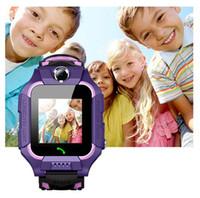 Z6 الأطفال أطفال الذكية ووتش IP67 للماء عميق 2G SIM بطاقة GPS المقتفي كاميرا SOS نداء الموقع تذكير لمكافحة خسر PK Q50 Q12