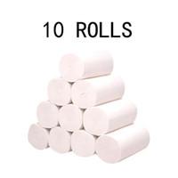 10 롤 종이 핸드 타월 화장지 화장실 롤 티슈 냅킨 소프트 편안한 주방 홈 액세서리