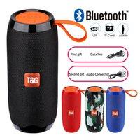 TG106 블루투스 야외 스피커 휴대용 무선 칼럼 라우드 스피커 상자 사운드 바 MP3 플레이어 스포츠 음악 재생 TG 시리즈 스피커