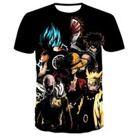 En Punch Man Saitama 3D Tryckt T-shirt Genos Sommar Män Kvinnor Harajuku T-tröja Fortniter Oversized Tshirt Boys Teenager Tee