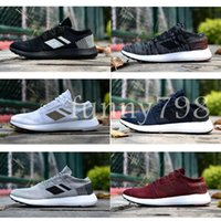 bd6653cfbdf341 New Arrival. High Designer fashion luxury shoes men Pureboost Go women Wave  Runner ultra running mens Training Top quality chaussures Sneakers