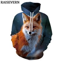 2019 wolf Cat hoodies Men's hoodie autumn Winter hip hop hoody Tops Casual 3D Streetwear Hoodie Sweatshirt