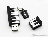 디자인 실제 용량 키보드 만화 USB 플래시 펜 드라이브 32GB ~ 64GB USB 플래시 드라이브