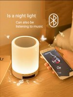 Creative Bluetooth Speaker LED Night Light Charging Bedroom ...