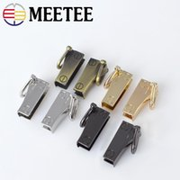 Meetee Fashion Handbag Strap Side Clip Metal Buckles Bag Cha...