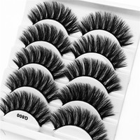 5 Pairs of 3D Faux Mink Lashes 5 in 1 False Eyelashes Makeup...