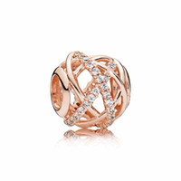 Luxury 18K Rose gold Hollowed out Galaxy Charm Set Original ...
