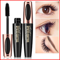 Macfee Long Curling Mascara Make-up Wimpern Schwarz Wasserdichte Wimperntusche Wimpern Make-up 4D Seidenfaser Wimperntusche
