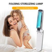 Портативный ультрафиолетовый гермицидный свет Портативный УФ дезинфекционный стерилизатор Стерилизатор 2W USB Батарея Удерживает ультрафиолетовые лампы