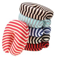 Striped Neck Travel Pillow Filling Foam U Shape Pillows Cush...