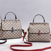 Rosa Sugao Luxus-Handtaschen Frauen-PU-Leder-Einkaufstasche Schulterbeutel 2020 neue Mode-Designer-Taschen Umhängetasche neue Art karierte Tasche
