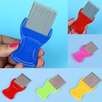New Dog Cat Pets Hair Flea Lice Nit Comb Pet Safe Flea Eggs ...