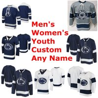 Penn State Nittany Lions Collegio Hockey maglie Mens Cole Hults Jersey Kevin Kerr Chase Berger Brandon Biro Nikita Pavlychev personalizzato cucito