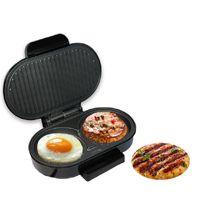 Beijamei BBQ elettrico Bistecca Hamburger Sandwich Maker Griglia Macchina per arrostire carne Padella per uova Mini forno per pane