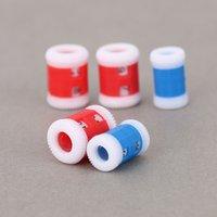 MyLB-2 большие красные пластиковые вязать вязальные иглы рядные счетчик +2 маленький синий пластиковый вязать вязальные иглы подряд