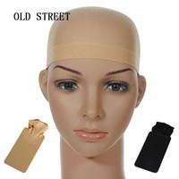 Unisex naylon kel peruk saç kap saç örgü peruk kap peruk yapmak için