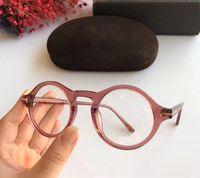 All'ingrosso-Newarrival retro-vintage unisex rotonda listone TF5526 eyewear 45-23 plancia per gli occhiali da sole prescripiton occhiali fullset cas