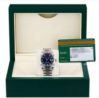 2020 Lojista recomenda luxo Datejust Aço Inoxidável Branco Ouro Azul Dial Dial Dial Masculino 126234 36mm 41mm Men's Watch