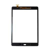 50Pcs для Samsung Galaxy Tab 9.7 T550 T555 экрана касания панели стекло объектива T550 LCD Передний датчик Замена