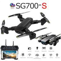 SG700-S professionale pieghevole Drone con doppio 1080P WiFi FPV ottico in grandangolo Portata RC Quadcopter elicottero