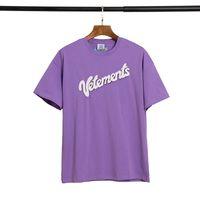SS20 nuovo arrivo Vetements progettista di marca superiori di Uomini T-shirt di moda della stampa Tees manica corta 217