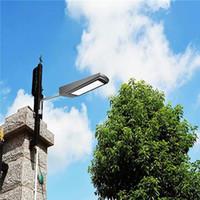 레이더 모션 센서 태양 빛 (108) LED 가로등 15W 2100LM 보안 빛 밤 야외 정원 경로 거리에 대한