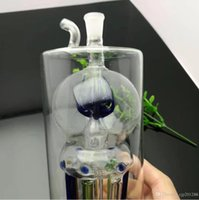 Flores sob a garrafa de água polvo vidro grosso de vidro bongs tubulações de óleo Burner água Vidro plataformas petrolíferas para fumantes