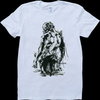 T-Shirt in cotone camiseta Bane White, Custom Made
