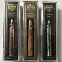 900mah Латунные костяшки 510 резьбовые стерлинговые аккумуляторы - деревянные золотые серебряные цвета доступны для густых нефтяных картриджей ручкой