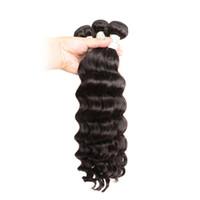 Viya peruana no remy cabello suelto rizado 3 paquetes máquina doble trama color natural suave y liso puede ser coloreado