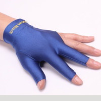 1 Pcs Unisex Spandex Snooker Billiard Cue Gloves Pool Left H...
