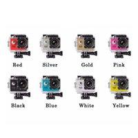Açık Spor Aksiyon Mini Sualtı Kamera 480 P Tam Su Geçirmez Kamera DV Ekran Suya Dayanıklı Video Gözetim
