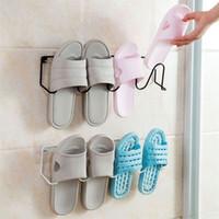 Полки для ванной комнаты Практичная железная настенная обувь стойка для гостиной полка стенд кабинета