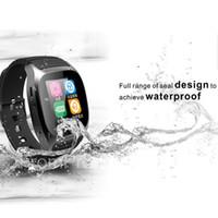M26 Smartwatch Bluetooth wasserdichte intelligente Uhr mit LED Alitmeter Music Player Pedometer Für Android Smart-Phone