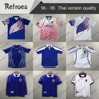 1998 99 Versión Retro Japón Soccer Jersey Home 10 Nanami 2006 Camisa de fútbol de 1994 1998 Lejos de la Copa Mundial 2000 Uniformes de fútbol clásicos