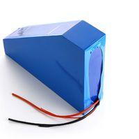 Batteria al litio duty free 2000W 48V 25AH batteria al litio 48V 25AH Ebike Batteria a forma di triangolo 48V uso SAMSUNG 3500MAH cella 50A BMS
