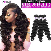 Peruvian Loose Deep Wave 1 3 4 Bundles 8A Unprocessed Virgin...
